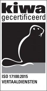 Vertalingen.nl is het eerste ISO 17100 gecertificeerde vertaalbureau van Nederland