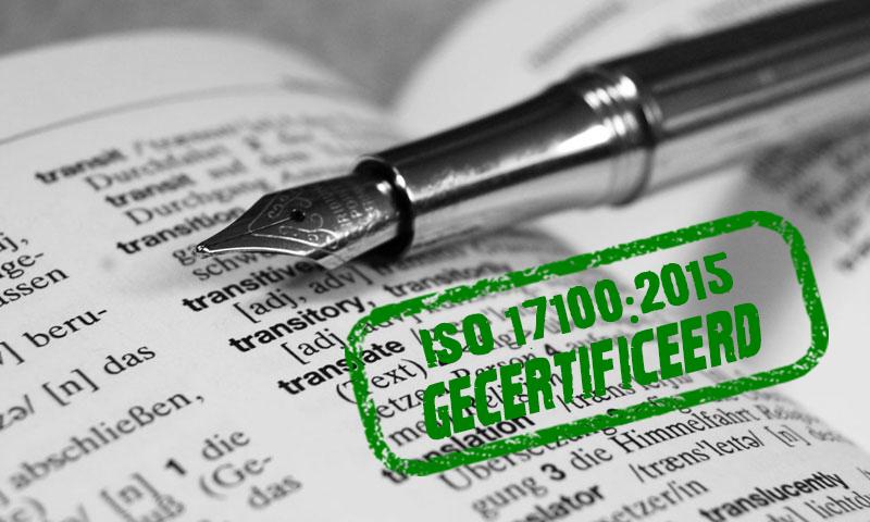 ISO 17100-certificering